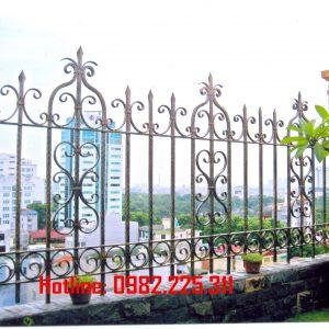 Hàng rào sắt mỹ thuật HR-07