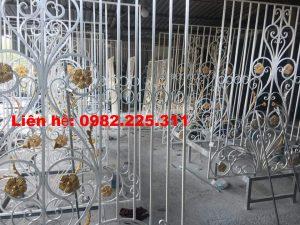 Cửa Cổng Sắt Mỹ Thuật Đẹp Tại Bắc Giang