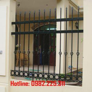 Hàng rào sắt mỹ thuật HR-08