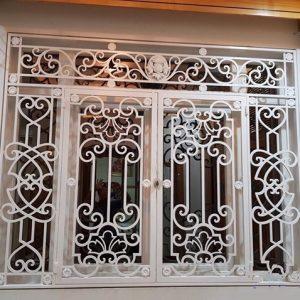 Mẫu cửa sổ hoa sắt CNC-05
