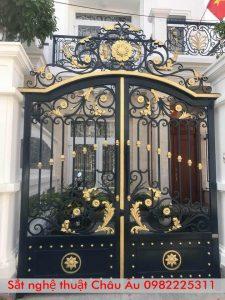 cổng biệt thự tân cổ điển