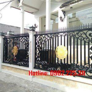 Hàng rào sắt mỹ thuật HR-22