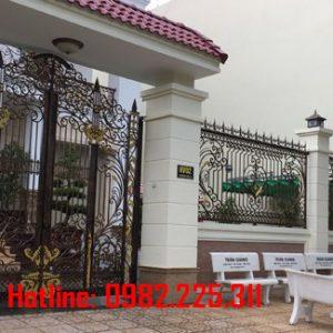 Hàng rào sắt mỹ thuật HR-61