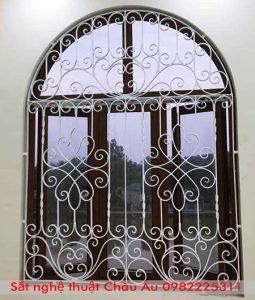 mẫu hoa sắt cửa sổ mỹ thuật
