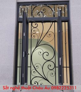 cửa sổ sắt nghệ thuật