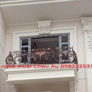 Mẫu lan can sắt mỹ thuật đẹp – Lan can sắt mỹ thuật tại Hà Nội