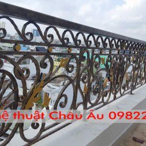 Những mẫu lan can sắt mỹ thuật đẹp tại Tp Thái Nguyên
