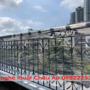 Mẫu lan can sắt tân cổ điển – Lan can sắt mỹ thuật tại Tp Nam Định