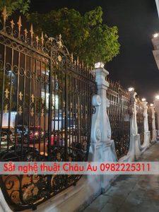 Cửa cổng sắt mỹ thuật cao cấp tại tp Bắc Ninh