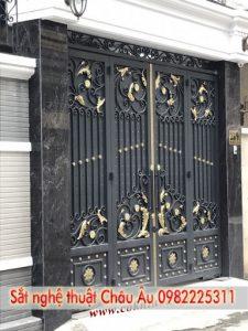 Mẫu cổng biệt thự hiện đại đẹp