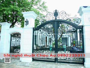 bộ cổng đẹp sang trọng