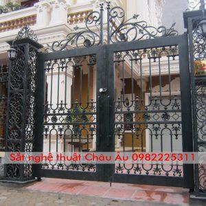 cửa cổng , cổng mỹ nghệ thuật đẹp 3