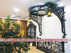Ban công sắt nghệ thuật cao cấp nhất Phú Thọ