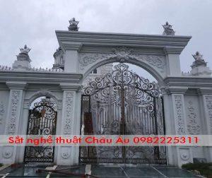 cửa cổng sắt nghệ thuật thành phố bắc ninh