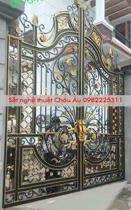 cửa cổng sang trọng , cổng mỹ thuật đẹp