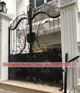cửa cổng , cổng mỹ nghệ thuật đẹp