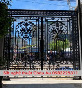 Chuyên thi công cửa cổng sắt mỹ thuật hn