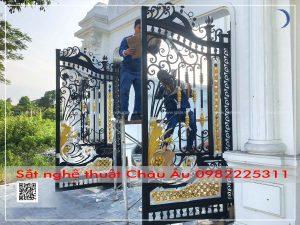 cổng đẹp từng họa tiết