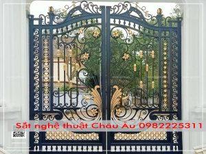 bộ cửa cổng đẹp tại hn