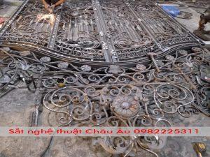 Hướng dẫn cửa cổng sắt nghệ thuật đep giá rẻ tại băc giang