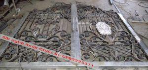 Cách làm cửa cổng sắt nghệ thuật đẹp tại Thanh xuân Hà Nội