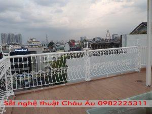 Lan can sắt mỹ thuật tại Hà Nội