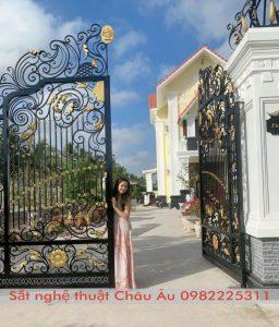 Mẫu cổngsắtbiệtthự đẹp
