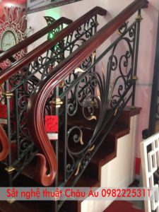 cầu thang sắt nghệ thuật đẹp nhất
