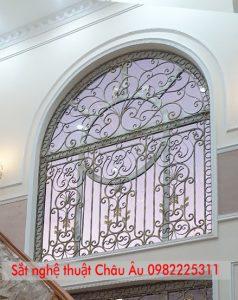 hoa sắt nghệ thuật cửa sổ