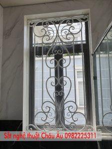 hoa sắt cửa sổ đẹp