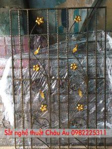 mẫu hoa sắt cửa sổ nghệ thuật
