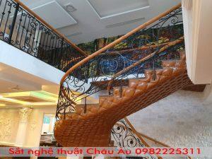Báo giá cầu thang sắt nghệ thuật