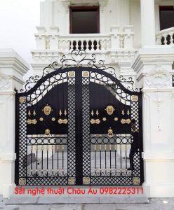 cổng sắt nghệ thuật