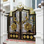 Cửa cổng biệt thự hiện đang rất được ưa chuộng tại các biệt thự