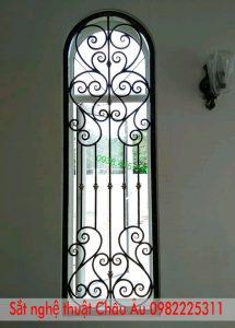 mẫu hoa sắt cửa sổ đẹp
