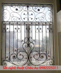 hoa sắt cửa sổ hiện đại